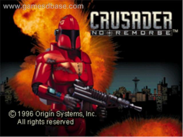 crusader no remorse wallpaper